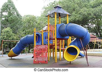 Playground - A children\'s playground at a public park