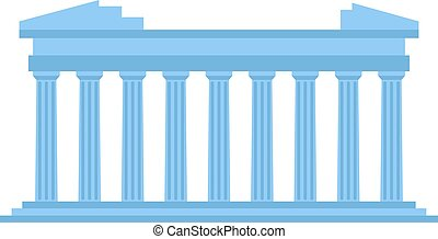 Ancient amphitheater vector illustration. - Ancient theater...