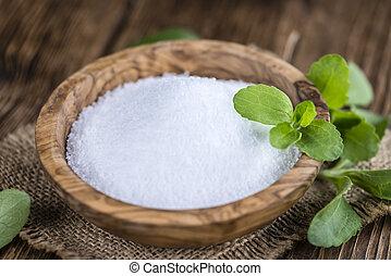 Stevia, Gránulos, (selective, focus),