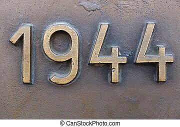 Year 1944 in Prague