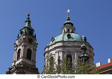 St Nicholas Church of Mala Strana in Prague