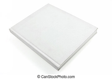 white casebound book - blank white casebound hard back book...