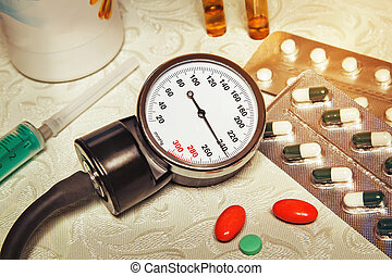 High blood pressure - hypertensive crisis and medications to...