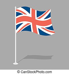 Great Britain Flag Official national symbol of United...