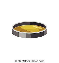 Filter lens  icon, cartoon style