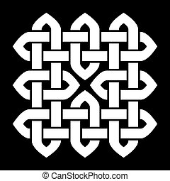 Celtic or Chinese knot - Celtic or Oriental Chinese, Korean...