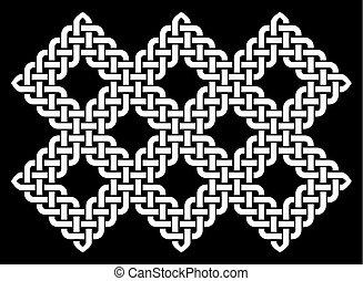 Chinese, Korean or Japanese knot - Oriental Chinese, Korean...
