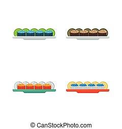 spawn sushi rolls set