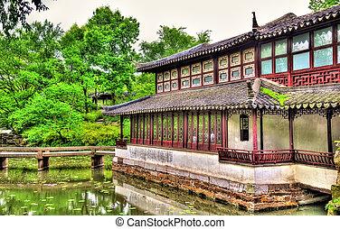 Humble Administrators Garden, the largest garden in Suzhou,...