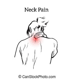 Pain in the neck of a man - Pain in the neck of a woman,...