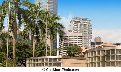 Kuala lumpur building near KLCC (petronas twin towers)