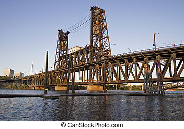 Steel Bridge Portland Oregon 3 - Steel Bridge Portland...