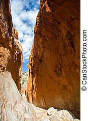 Standley Chasm At Midday - The famous Standley Chasm as...