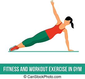 Aerobic icons full color 23 - Fitness, Aerobic and workout...