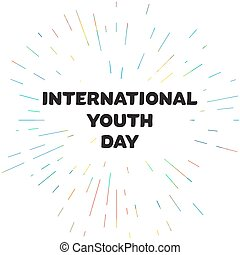 International Youth Day Banner