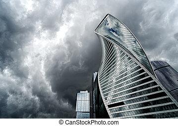 Moscou, cidade, e, Tempestade,
