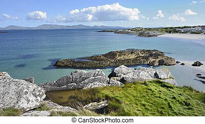 Ireland coastline landscape