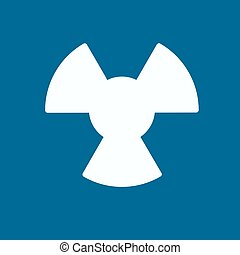 The radiation icon.