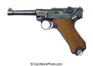 Luger P08 Pistol - A German (Pistole Parabellum 1908) Luger...