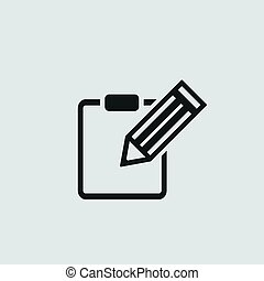 The contract icon. Agreement and signature, pact, accord,...