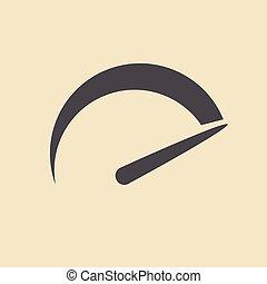 Speedometer icon