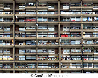 Trellick Tower, London - Trellick Tower iconic sixties new...