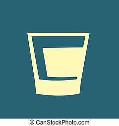 Whiskey glass icon