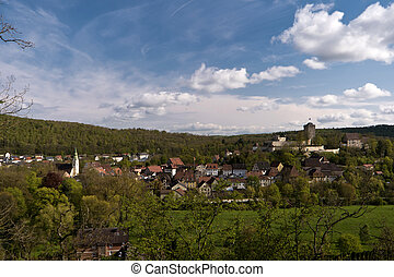 Pappenheim in the Altmuuml;hltal in Germany - Pappenheim in...