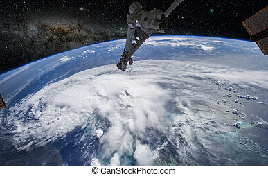 Planet Earth from space Elements of this image furnished by...