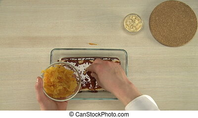Healthy dessert with prunes and dried apricots. - Cooking...