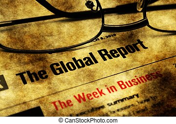 Global report week in business