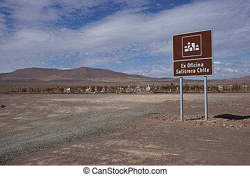 Graveyard in the Atacama - Historic graveyard in the Atacama...