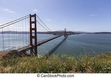Golden Gate Hilltop View