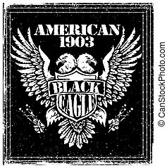 American Eagle Vector Graphic Design