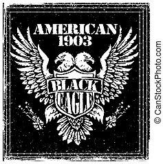 American Eagle Vector Graphic Design