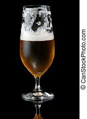 Half Empty Beer