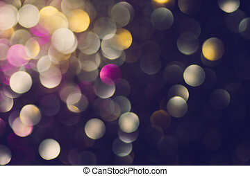 Beautiful abstract bokeh lights for background - Abstract...
