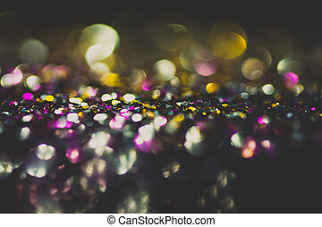 Abstract bokeh lights for background