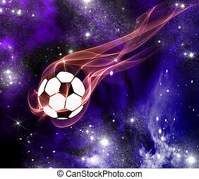 Football in the universe