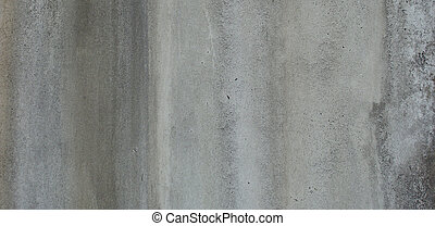 dirty gray green wall with dirt lea