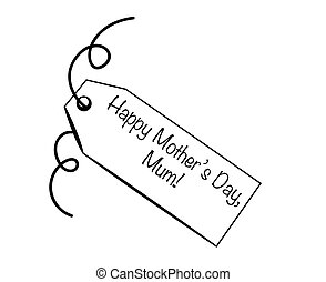 Happy Mother's Day Mum Tag