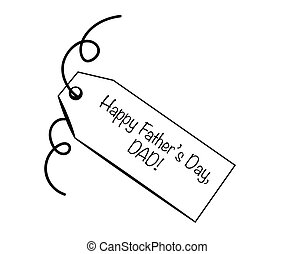 Happy Father's Day DAD Tag