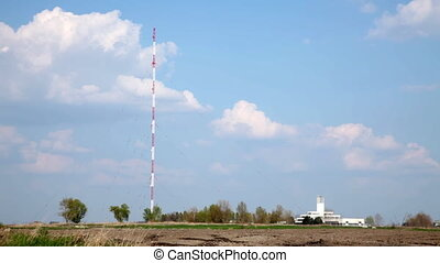 Transmitter - Radio broadcast tower