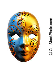 Carnival mask - This is a photo carnival mask of Venice