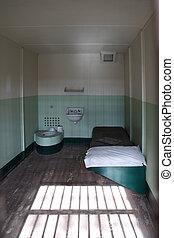 Alcatraz Island Prison Cell - Alcatraz Island National Park...