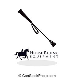 Horse ridding design. equipment icon. isolated illustration...