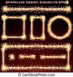 Sparkling Design Elements