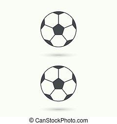 Vector icon  soccer ball.