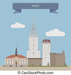 Narva, Estonia - Narva,third largest city in Estonia