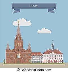 Tartu, Estonia - Tartu, second largest city of Estonia